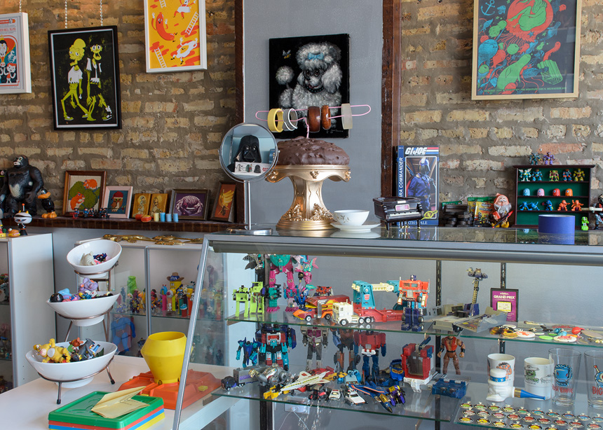 Toy de Jour Vintage Toy Store in Chicago
