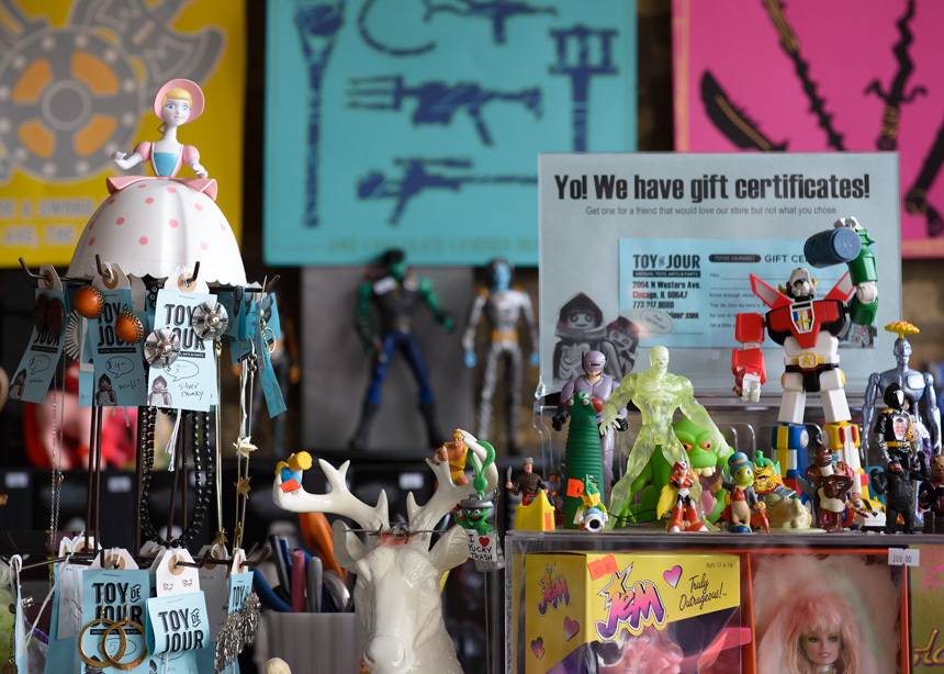 Toy de Jour in Chicago - Vintage, Toys, Arts, & Farts