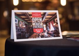 Launch party for Open House Chicago at the Builders BLDG, hosted by the Chicago Architecture Foundation - Event photography by Michael Courier