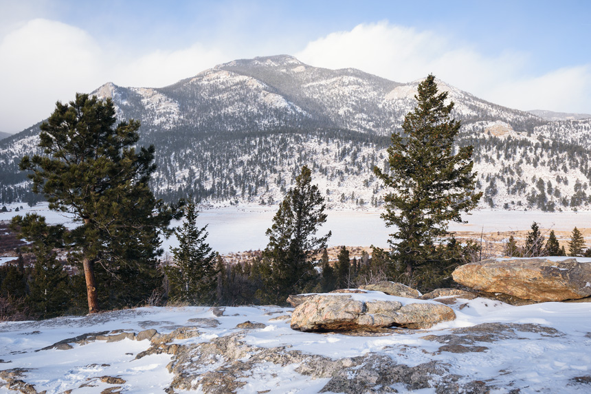 Rocky Mountain National Park with Aspire Tours - Nature photographs of the beautiful landscapes at the Rocky Mountain National Park in Colorado - Photography by Michael Courier