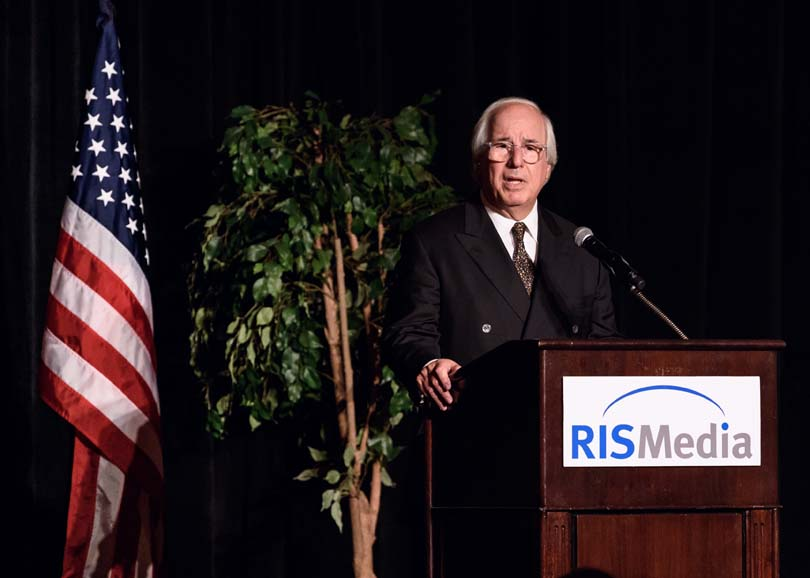 Frank Abagnale speaking at an event with RISMedia - Event Photography by Michael Courier Photography