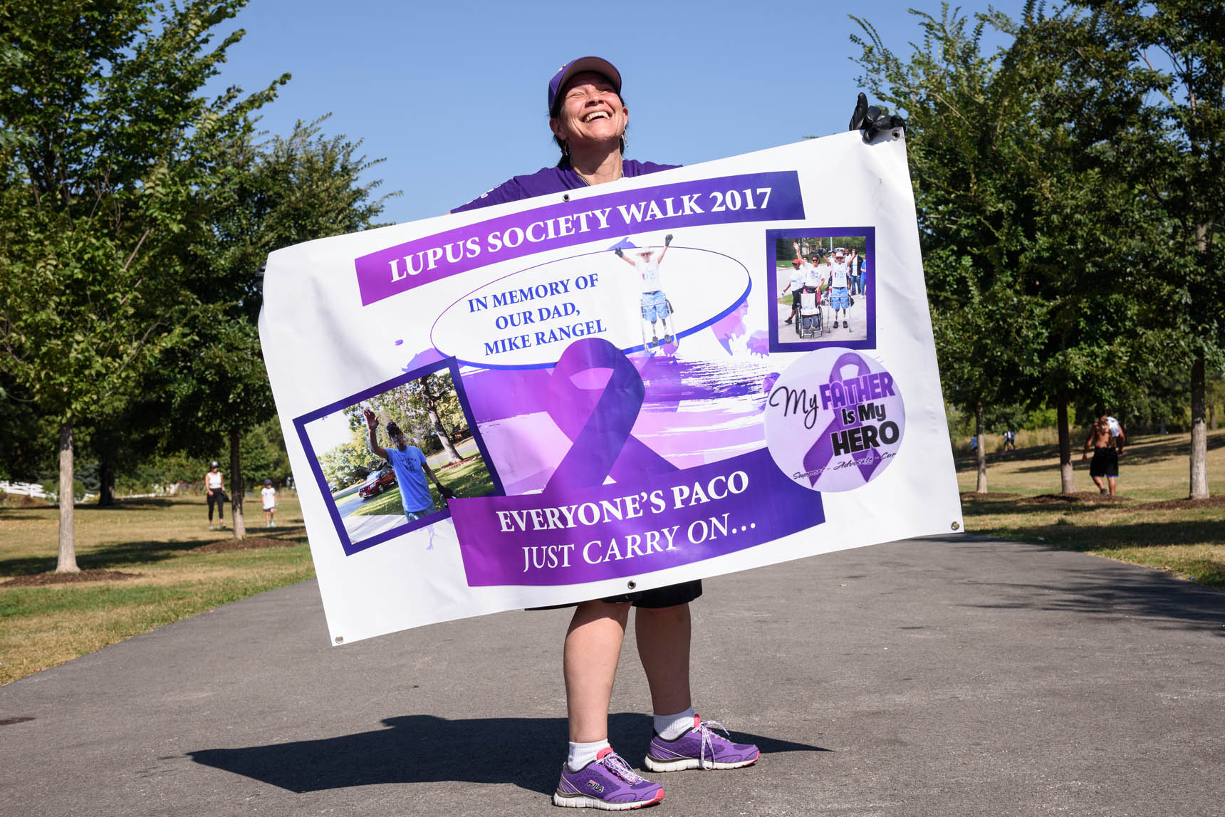 Lupus Society of Illinois Chicago Walkaton 2017 - Raising money for the fight against lupus - Event photography by Michael Courier Photography