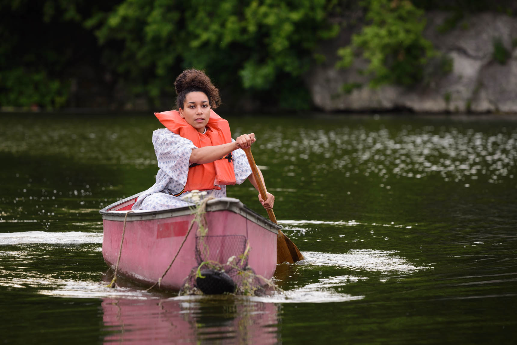 This Boat Called My Body for the Illinois Caucus for Adolescent Health - Performing Arts Photography by Michael Courier