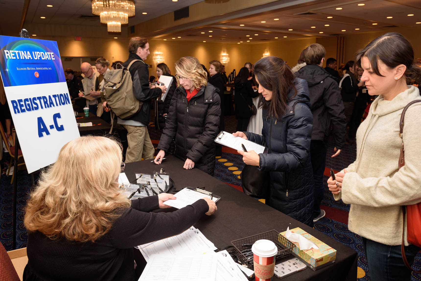 The Illinois Retina Associates Annual Conference - Corporate Event Photography by Michael Courier