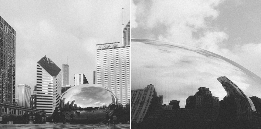 Cloudgate - by Michael Courier