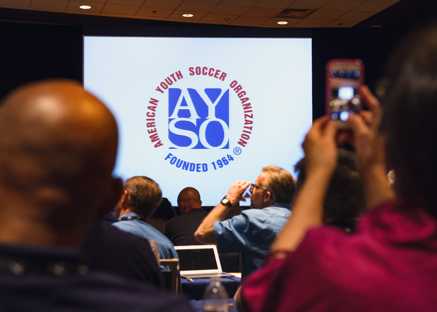 The American Youth Soccer Organization (AYSO) held their National Annual General Meeting (NAGM) in Chicago at Chicago Marriott - AYSO NAGM 2016 - Event and conference photography by Michael Courier