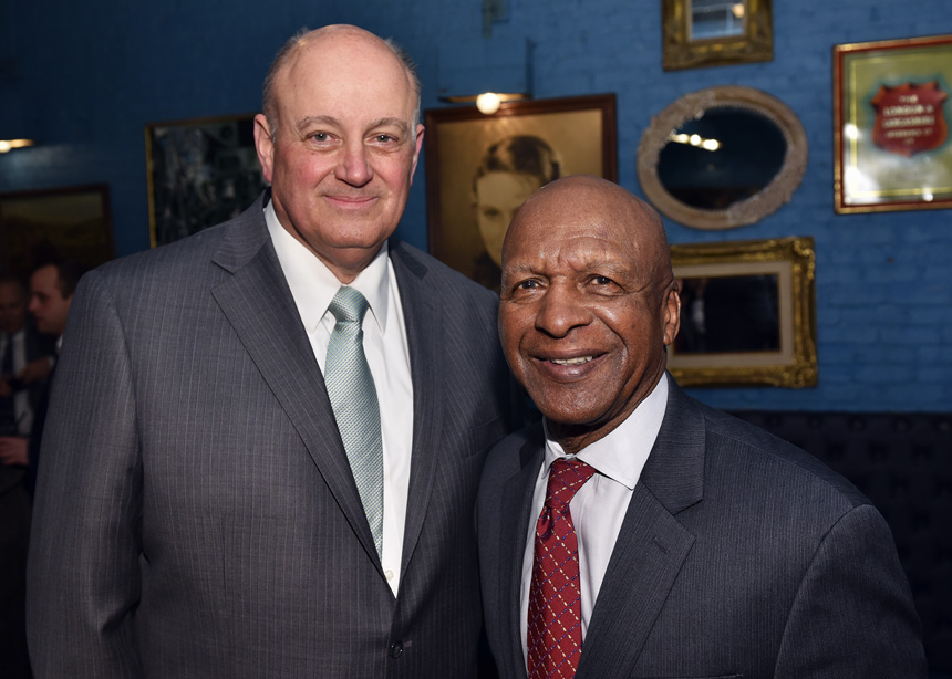 The Illinois Democratic County Chairman's Association (IDCCA) hosted their annual reception in Chicago on March 16, 2017 at the Hubbard Inn - Featuring Illinois Secretary of State Jesse White - Event Photography by Michael Courier