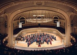 Symphony Center in Chicago with Manhattan Concert Productions - Performance Photography by Michael Courier