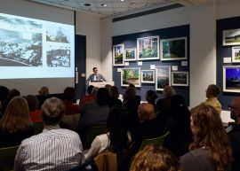 Dan Kiley event at the Chicago Architecture Foundation - Event Photography by Michael Courier