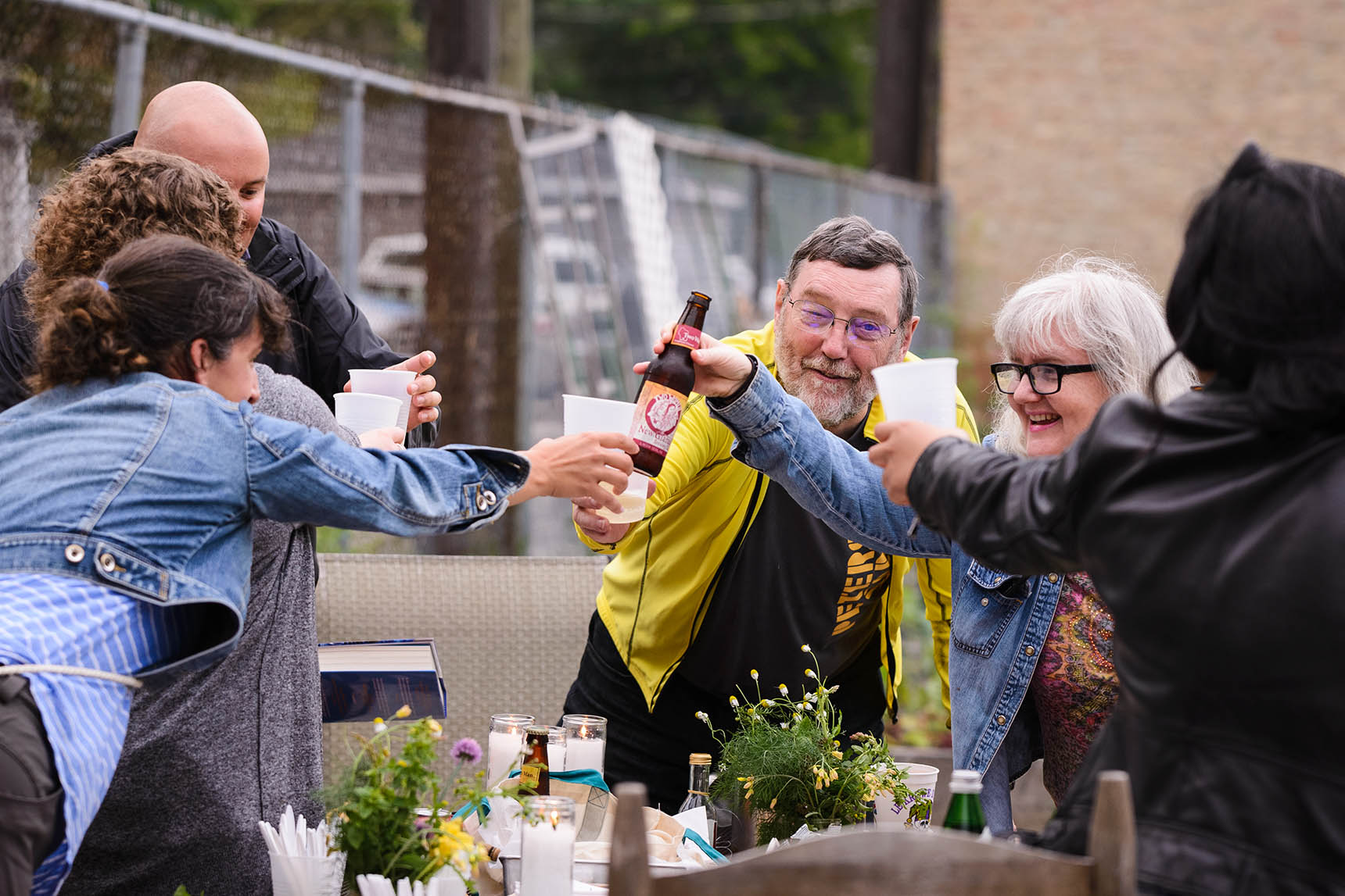 Event photography for Peterson Garden Project by Michael Courier