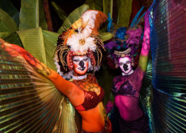 Spectacle event at Carnivale in Chicago - Event Photography by Michael Courier