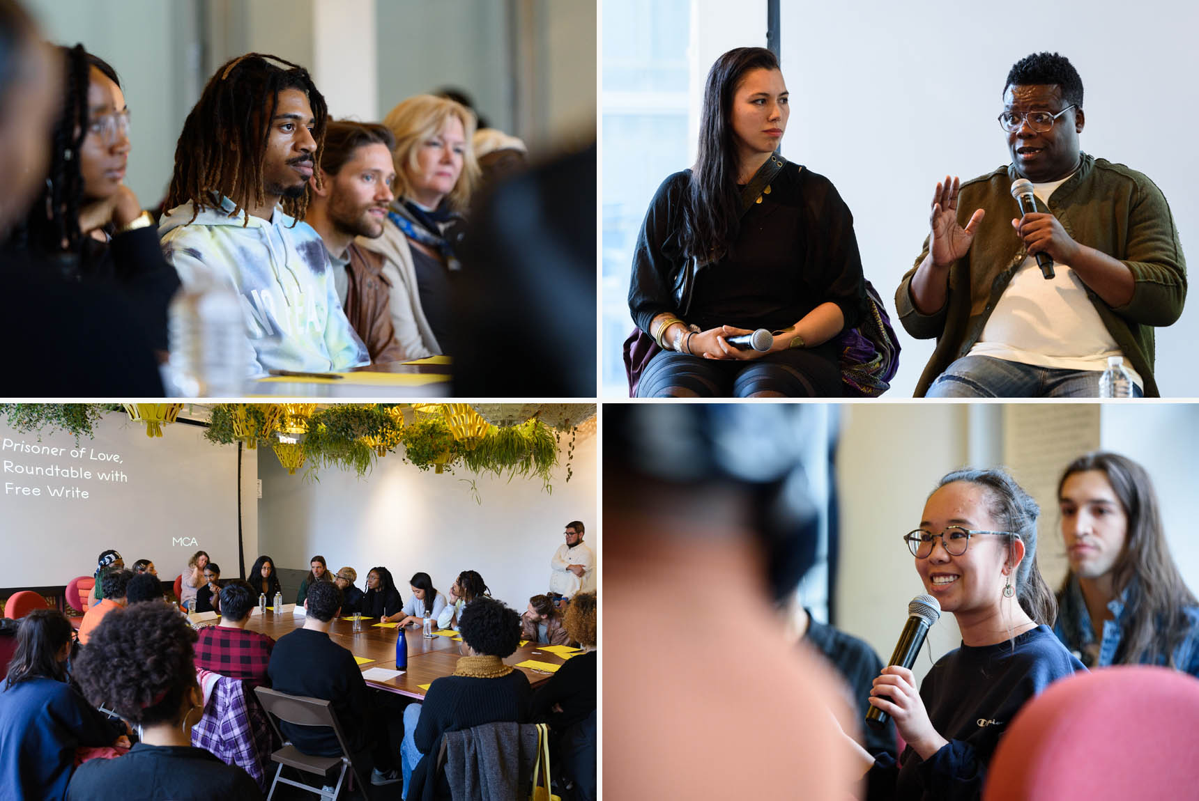 Panel and round-table discussions at the Museum of Contemporary Art Chicago - Event Photography by Michael Courier